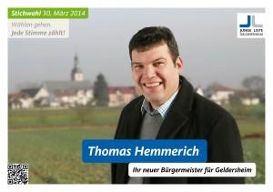 Thomas Hemmerich - Ihr neuer Bürgermeister